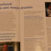 Wasconnect in MKB Deventer magazine