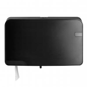 MiniDuoJumbo-Toiletrolautomaat-Zwart