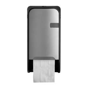 Duo-Toiletrolautomaat-Doprol-Zilver