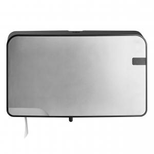 MiniDuoJumbo-Toiletrolautomaat-Zilver