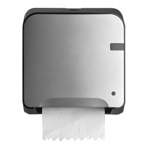 Handdoekrolautomaat-Papier-Zilver